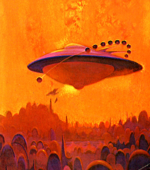 sciencefictiongallery:  Paul Lehr - The Legion Of Space, 1969.