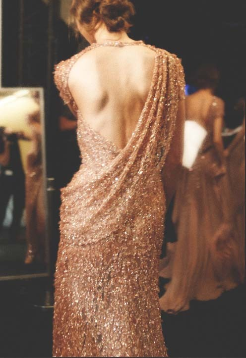 somethingvain:  elie saab haute couture f/w 2011, backstage