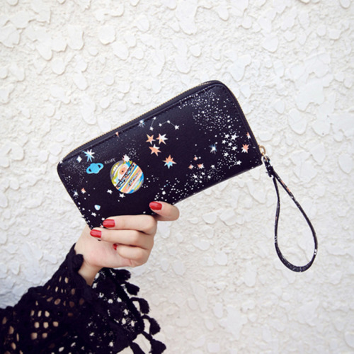 wallet cosmic galaxy space discount discounts