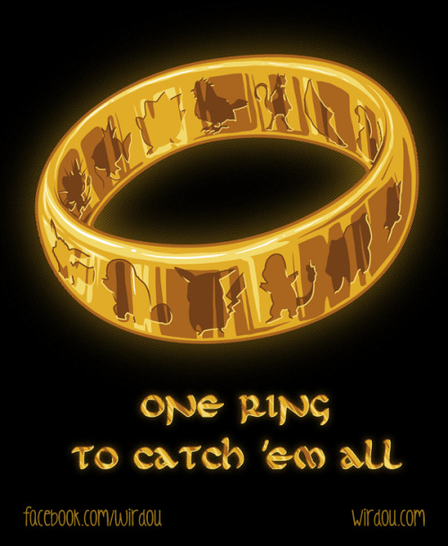 insanelygaming:  The One Ring Created by WirdouDesigns
