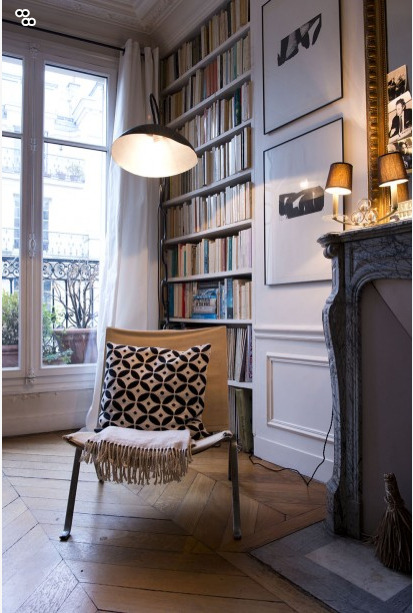 Source: The Socialite Family Perfect place to sit quietly with a book. I love this!