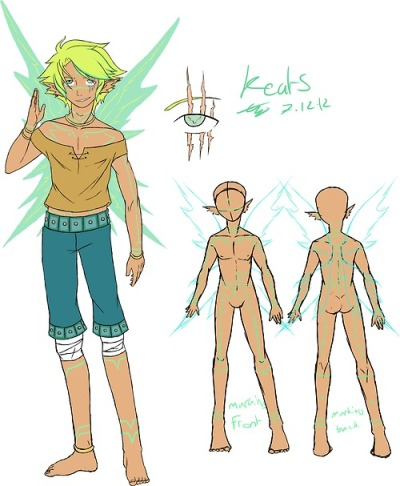 A lightning fairy character of mine called Keats.Download for higher quality I guess.Enjoy~Behax~Character and art (C) me