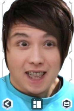 danisnotonfire:  teenyteenylou:  This is what Dan and Kim Jong Un look like merged together!…..  JESUS CHRIST