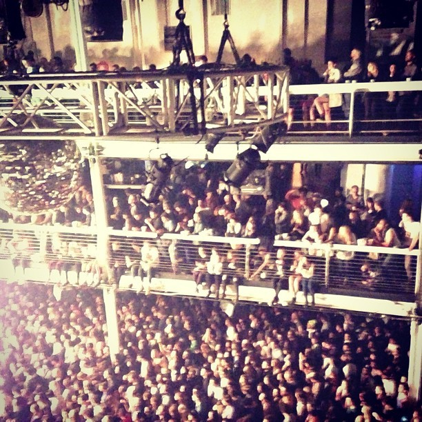 Sold out show  (at Terminal 5)