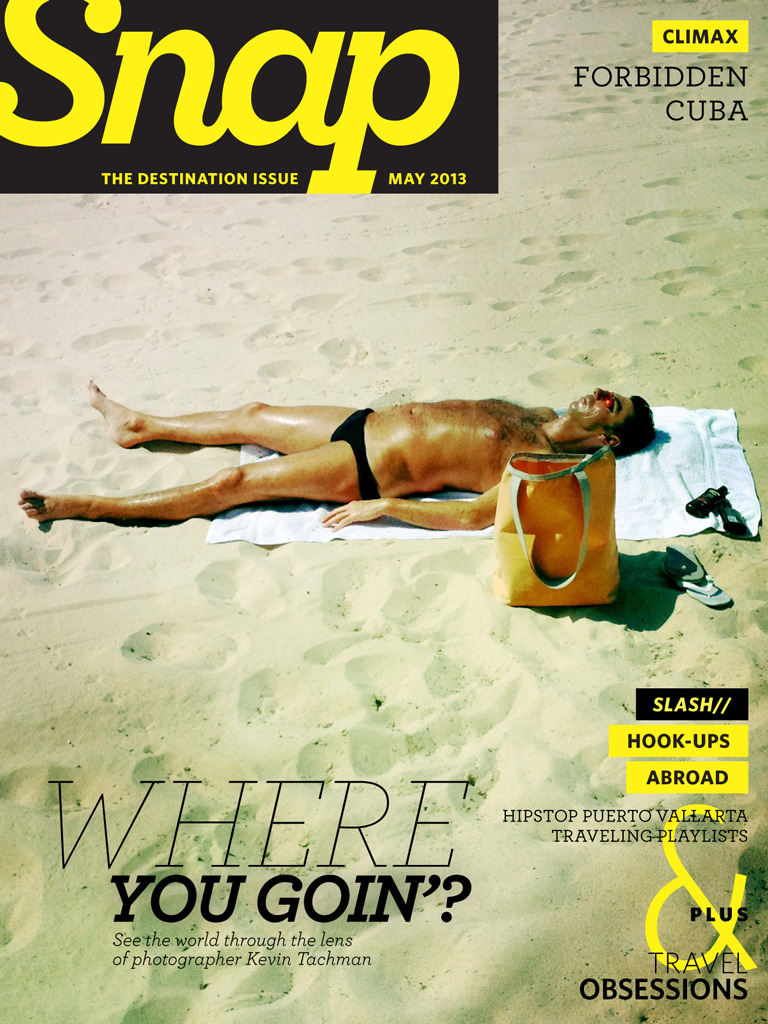 The Snap DESTINATION issue is here!   From biking across the Alps to road tripping through Europe to sailing the coasts of Mexico, we're highlighting it all in this month's issue of Snap. Plus, learn what to pack for weekend getaways, rock out to our vacation ready playlists and decide if traveling to Cuba is worth the risk. Download Snap for free on iPhone and iPad, or read the entire issue at Snapm.ag. Want to contribute? Hit us up.   [Cover image shot by Kevin Tachman]