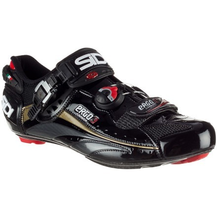 SIDI ERGO 3 VENT CARBON EURO EDITION SHOES! Some damn good shoes that I would love.