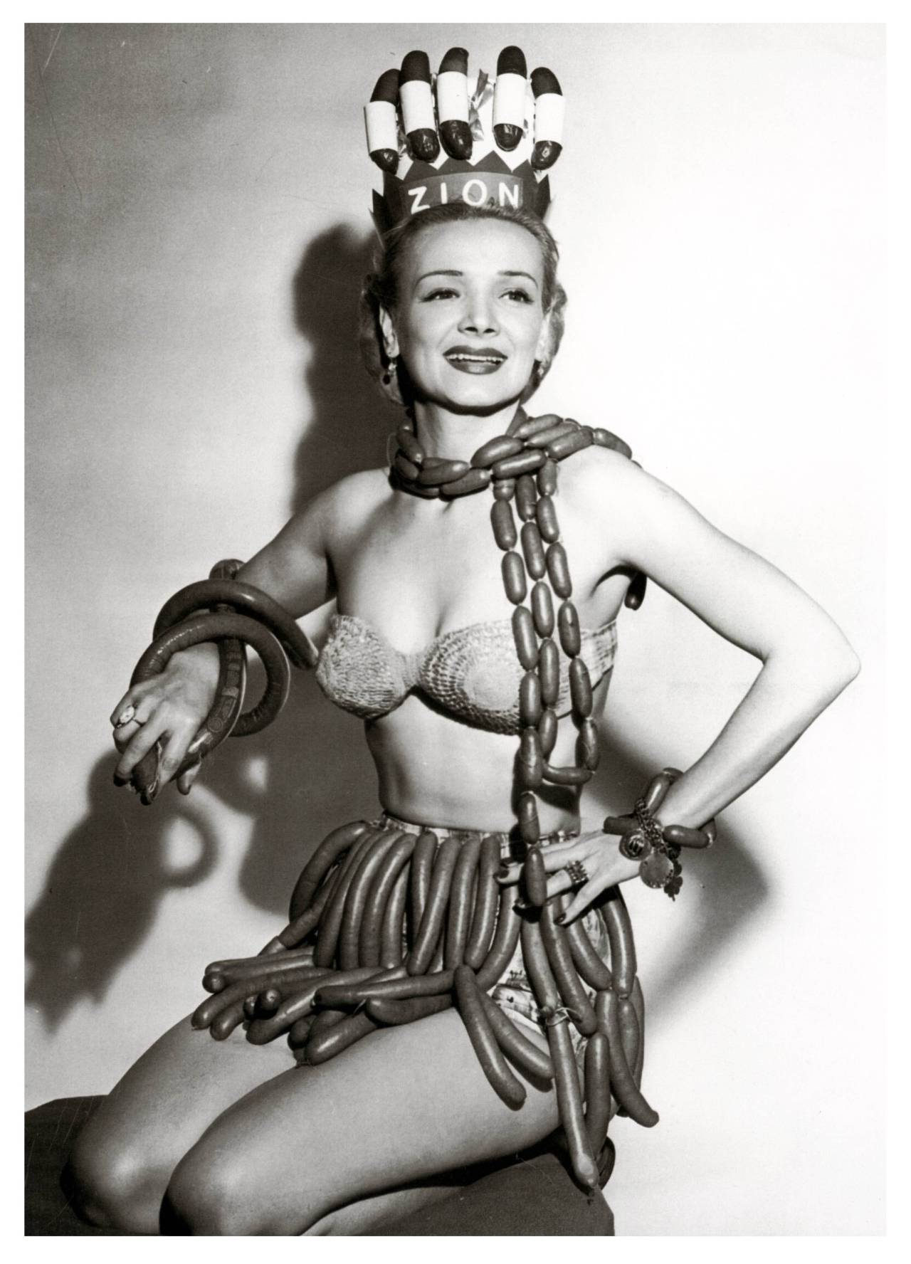 miss sausage queen 1955