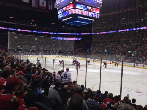 Great time at Nationwide Arena last night. Folks who have stuck by CBJ are good fans and deserve a winner. Hope to see that happen, but I'm going to stick with the team that first captured my fancy with Jeremy Roenick, Chris Chelios, Ed Belfour and Tony Amonte