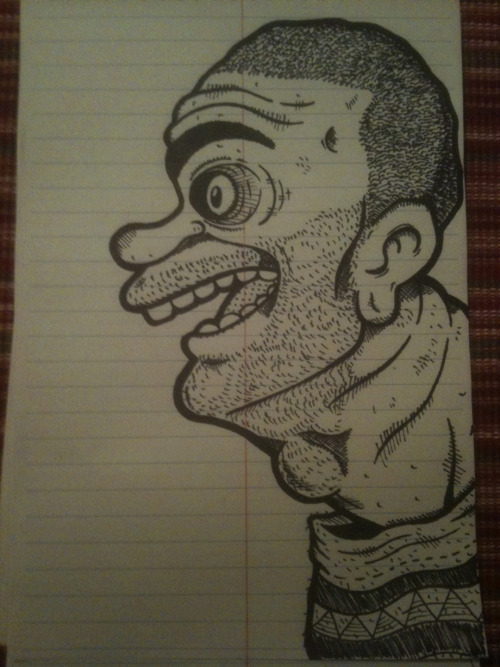 Robert Crumb Inspired Sketch