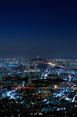 fuckyeahjapanandkorea:  Night Image - Seoul Korea 2 (by toughkidcst)