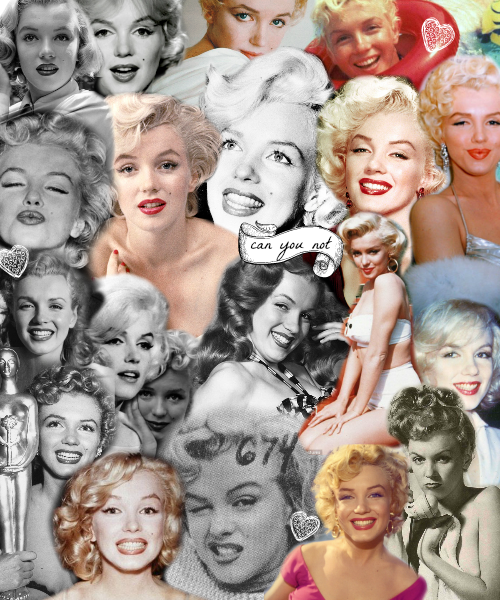 "missmonroes:  Marilyn ""can you not"" Monroe"