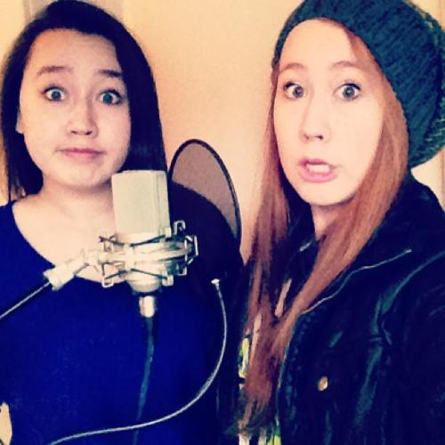 Recording!! And being weird…which is just a given. http://instagram.com/p/V-K3DoI-d6/