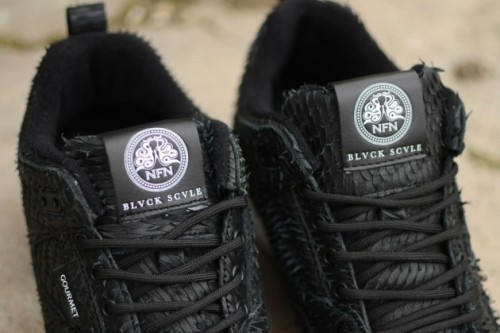 Gourmet x Blvck Scvle aka… The Devil's Shoes!
