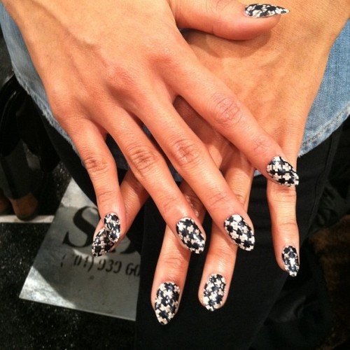#nailArt #backstage for @emerson_by_JFS #nyfw #mbfw #nonfilter  (at Mercedes-Benz Fashion Week)