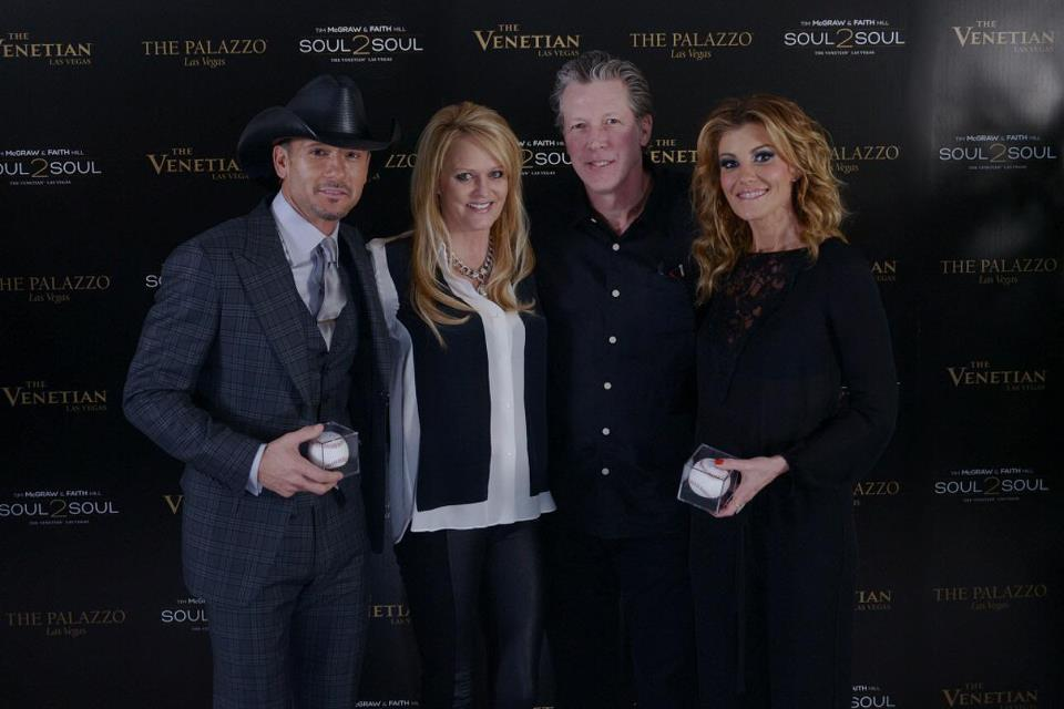 With Faith, Orel Hershiser, and his wife at The Venetian this past weekend!