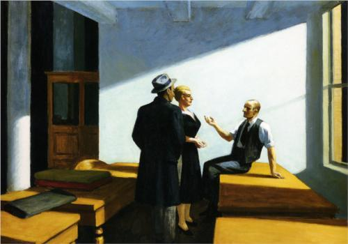 "Edward Hopper ""Conference at Night"" c.1949"