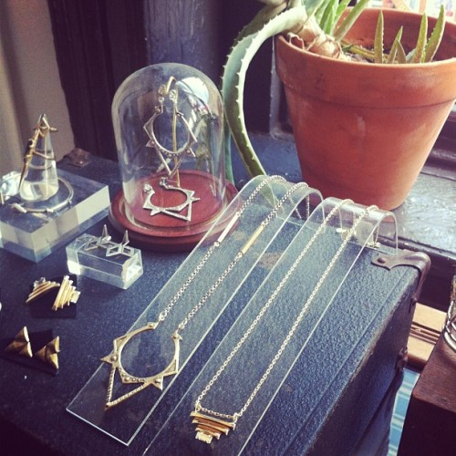 Our jewelry is basking in the sunlight by the studio window today! ☀ BB BLACK LABEL
