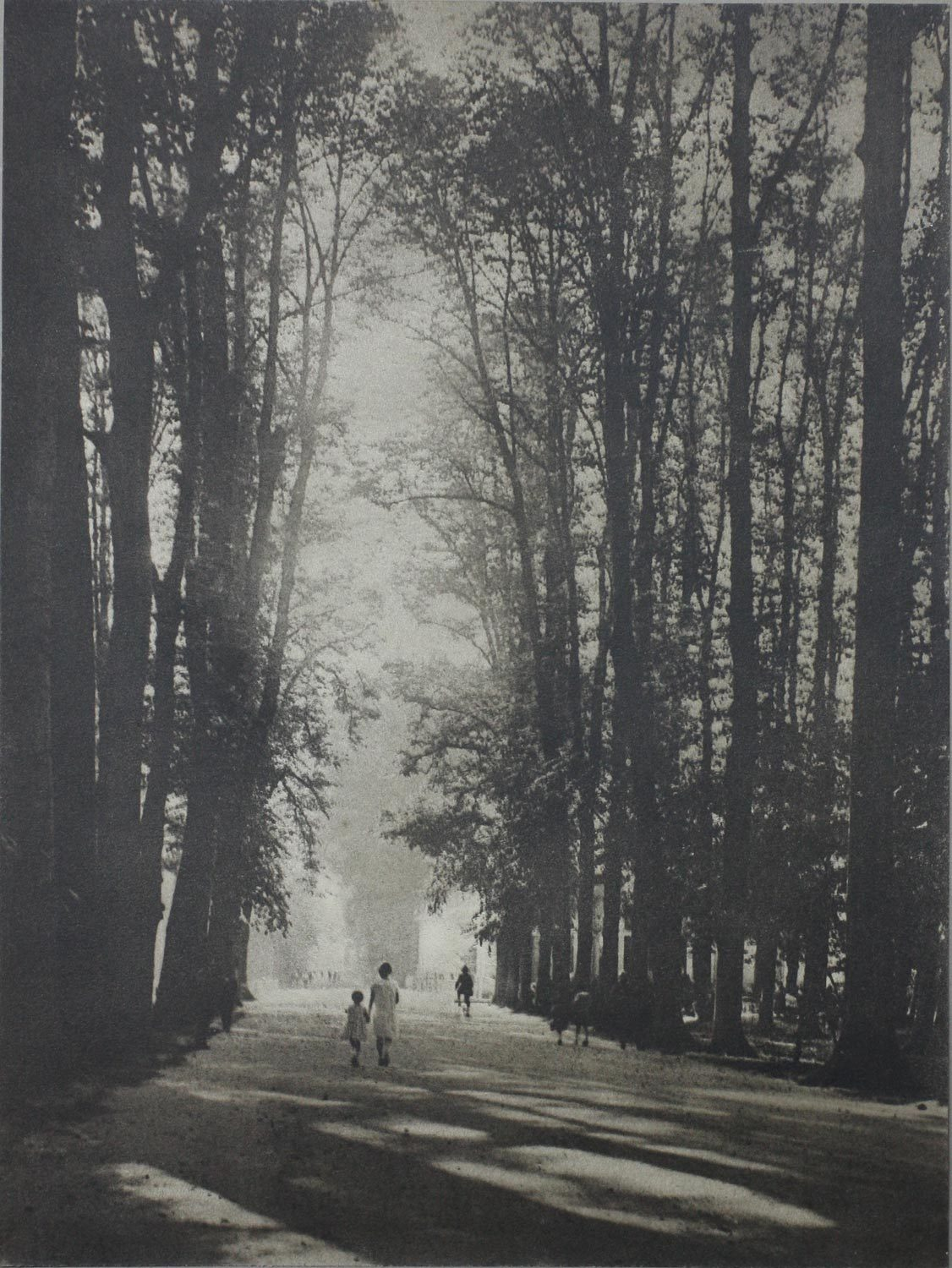 "gypsji:  Jozef Emiel Borrenbergen, From the portfolio ""Rivierenhof"" I,1926, Belgium,"