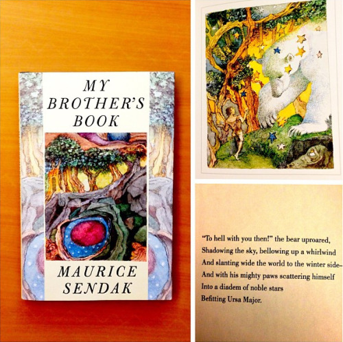 Maurice Sendak's Darker Dreams  Read an exclusive excerpt from My Brother's Book, the beloved author's haunting tale of the journey to death.