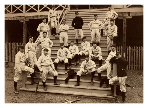 "1899 St. Louis Perfectos TeamThis team was called the Perfectos for only one year. The following season they would become the much more familiar St. Louis Cardinals. Standing all the way to the left is Denton True Young, better known as Cy Young (""Cy"" is short for ""Cyclone"")."