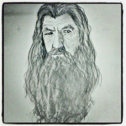 #Gandalf #LOTR #sketch #pencil #art