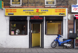Access 2 Cars, Tower Bridge Road, SE1