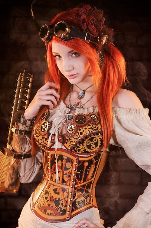 Cosplay do Dia. Steampunk Girl.