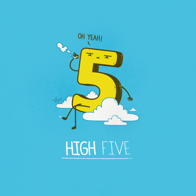 urhajos:  High Five by *NaBHaN