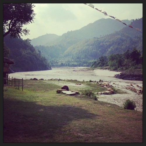 20km white water rafting ride through this amazing Nepali scene. #latergram