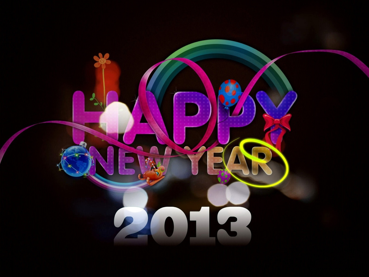YAY!!! A year finally over and a new year just beginning. May this year be filled with hope and happiness!!!!! And damn yea we made it through another year! WOOHOO!!!!:)