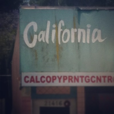 #typography #california #la #signpainting #sign
