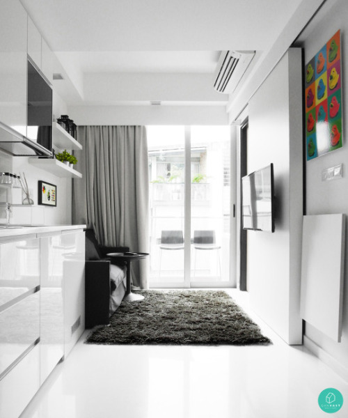 Smart designs for small spaces in singapore homes qanvast for Small house design singapore