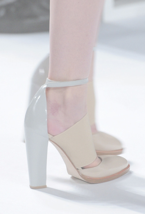 sfilate:  Shoes at Lacoste F/W 2013