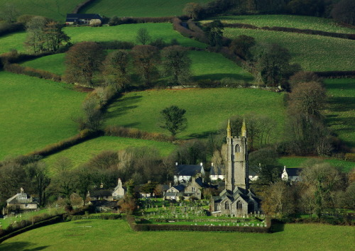 devon english villages dartmoor church english countryside england