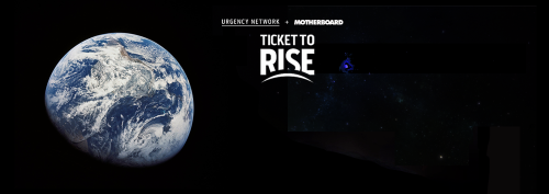 Win A Private Trip To Space for learning about 's campaign on The Urgency Network