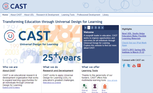 If you are a pre-service teacher and have not heard of the Universal Design for Learning (UDL) I recommend looking into it. Here is an analogy to help you start thinking about holistic planning. 'It has been snowing at a school and the students are waiting to enter the class. There is a student in a wheel chair. The janitor has been called to clear away the snow from the ramp and stairs. She cleans the stairs first even though ALL of the students would have been able to get into class if the ramp were cleaned first' Here are some quick resources to start thinking about UDL. 1. Go to CAST.org  This website provides a variety of resources for teachers to ensure appropriate planning to meet all of their students' learning needs. 2.   Universal Design for Learning  Post, Katherine M; Rainville, Ellen Berger. OT Practice 16. 4 (Mar 14, 2011): 12-14, 17. http://search.proquest.com.ezp01.library.qut.edu.au/docview/1315192174?accountid=13380 3.   Universal design for learning initiatives  Training and Development in Australia 35. 5 (Oct 2008): 23-25. http://search.proquest.com.ezp01.library.qut.edu.au/docview/208560846?accountid=13380  All students have learning needs and it is your duty to attend to them.