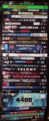 fangirlasplosian:  My updated Jeffrey Combs collection.