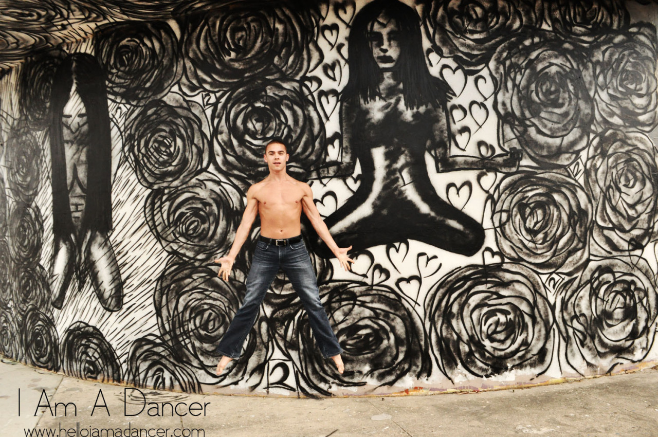 """I dance because it's a part of who I am, it's an emotional release,"" Michael Francis McBride.  Michael is a company member with the Alvin Ailey American Dance Theater. The company was in Miami in Febraury 2013 to perform at the Adrienne Arsht Center."