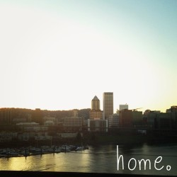Gosh I love this city. :) But it's back to Spokane for me. #portland #home