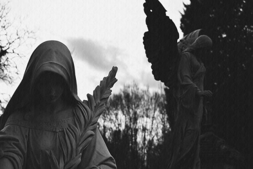 cemetery black metal grave dark art photography dead cold night black and white