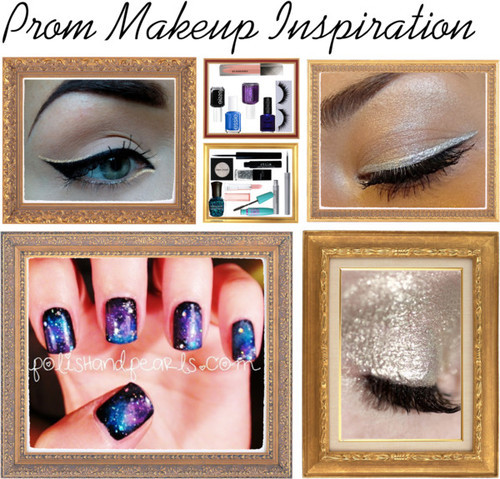 prom make up inspiration :) by wardrobeofmylife featuring ellis faas