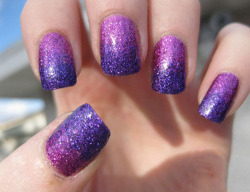 spicy-cabbage:  purple nails - Google Search on @weheartit.com - http://whrt.it/YRKyXl