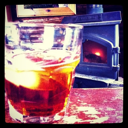 Waiting for the bad weather to let up #Maylong #cabin #OldFashioned