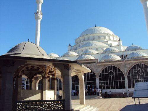 rafeyas:  muhammadanmuslim:  1. Makhachkala Grand Mosque - Dagestan, Russia 2. Akhmad Kadyrov Mosque - Chechnya, Russia 3. Sultan Ahmed Mosque - Istanbul, Turkey 4. Qolsharif Mosque - Tartarstan, Russia 5. Badshahi Mosque - Lahore, Pakistan 6. Masjid al-Haram - Makkah, Arabia 7. Putra Mosque - Putrajaya, Malaysia 8. Hassan II Mosque - Casablanca, Morocco 9. Masjid an-Nabawi - Madinah, Arabia 10. Omar Ibn al-Khattab Mosque - Berlin, Germany  I don't want to….I NEED to visit and see these spectacular Masjids in person