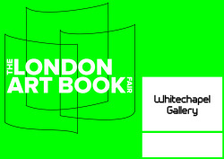 We're excited to be exhibiting at this year's London Art Book Fair 26th-28th September at Whitechapel Gallery, come and say hi! http://www.whitechapelgallery.org/book-fair/the-london-art-book-fair
