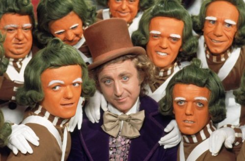 "8 Dark Theories About Children's Movies and TV Shows 1. Willy Wonka is a cannibalistic murderer. Granted: Wonka is a total creep, if not a psychopath. But some on the internet think that in the world of Wonka's chocolate factory, a secret candy recipe + shockingly easy child injury and possible death (i.e. the Augustus Gloop-sucking tube) = kid-candy. Wouldn't that make it taste a bit funky? Thick? Stringy? Regardless, the argument loses some credibility around the point this FanTheories Wiki editor says he's ""not trying to be racist here [about Oompa Loompas], but cannibalism in Africa isn't the rarest of things."" Sounds to me like he's just using his pure, bigoted imagination. Keep Reading"