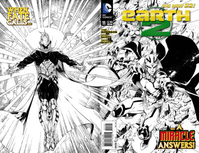 CBR has a preview of Earth 2 #11 written by James Robinson, with art from Nicola Scott, and a cover by Brett Booth.