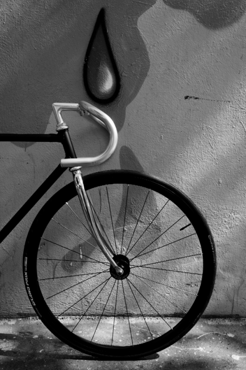 My first fixed gear bike - 2009 Photo: C-reel
