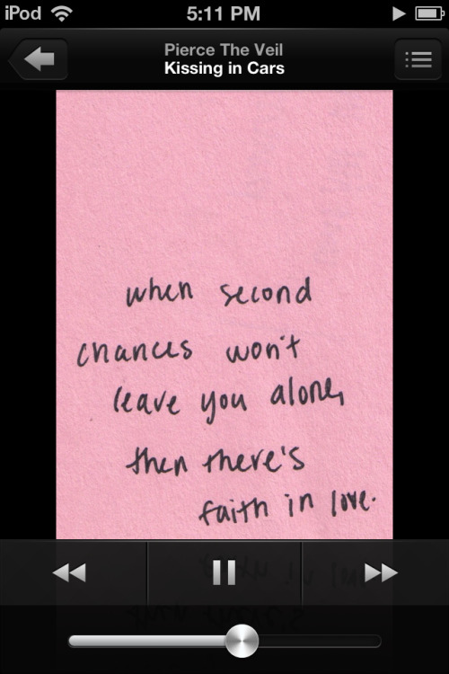 Second chances won't leave you alone…