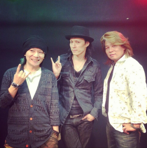 defspiral-fans:  Taka and Ryo with BrandX #defspiral